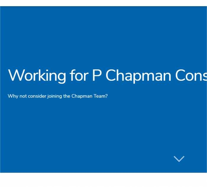 Working for Chapman 02